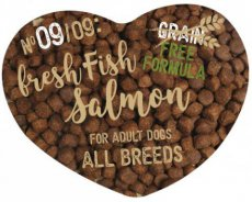 9Rescue Pet Food Fresh Meat Salmon Adult